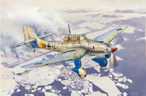 Trumpeter 02422 Samolot Junkers Ju-87B-2 / U4 Stuka
