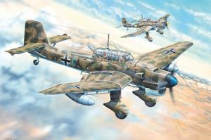 Trumpeter 02423 Samolot Junkers Ju-87R Stuka model 1-24