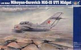 Trumpeter 02805 MiG-15 UTI Midget