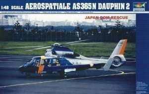 Trumpeter 02818 Aerospatiale AS365N Dauphin 2