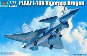 Trumpeter 02848 PLAAF J-10B Vigorous Dragon