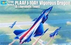 Trumpeter 02857 PLAAF J-10AY Vigorous Dragon(8-1 Aerobatic Team)