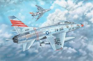 Trumpeter 03221 Samolot F-100C Super Sabre model 1-32