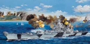 Trumpeter 03706 pancernik USS Iowa BB-61 1/200