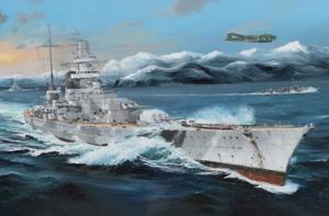 Trumpeter 03715 Pancernik Scharnhorst model 1-200