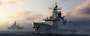 Trumpeter 04543 Okręt PLA Navy Type 054A FFG model 1-350
