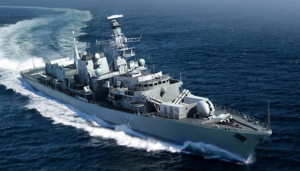 Trumpeter 04546 HMS Type 23 Frigate - Westminster (F237) model 1-350
