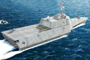 Trumpeter 04548 USS Independence (LCS-2) model 1-350