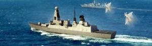 Trumpeter 04550 Niszczyciel rakietowy HMS Type 45