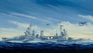 Trumpeter 05310 USS San Francisco CA-38 1944