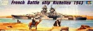 Trumpeter 05311 French Battleship Richelieu