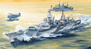 Trumpeter 05327 Krążownik USS Indianapolis CA-35 1944