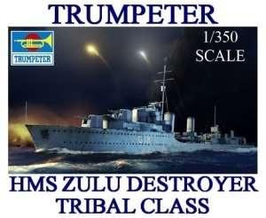 Trumpeter 05332 HMS Zulu Destroyer 1941