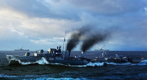 Trumpeter 05333 Niszczyciel HMCS Huron 1944