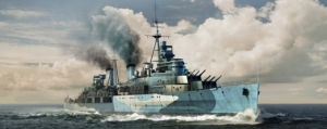 Trumpeter 05334 HMS Belfast 1942