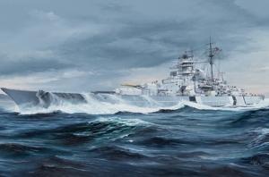 Trumpeter 05358 Pancernik Bismarck skala 1-350