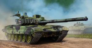 Trumpeter 05595 Czołg T-72M4CZ MBT model 1-35