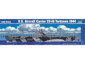Trumpeter 05603 Lotniskowiec USS Yorktown CV-10 1944 model 1-350