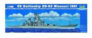 Trumpeter 05705 USS Missouri BB-63 1991