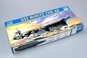 Trumpeter 05714 USS Nimitz CVN-68 1975