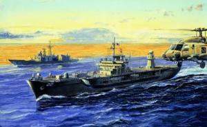 Trumpeter 05718 Okręt dowodzenia USS Mount Whitney LCC-20 2004