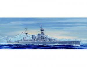 Trumpeter 05741 Krążownik HMS Hood 1931 model 1-700