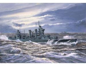 Trumpeter 05742 Krążownik USS New Orleans CA-32 1942 model 1-700