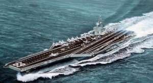 Trumpeter 05753 USS Dwight D.Eisenhower CVN-69 1978
