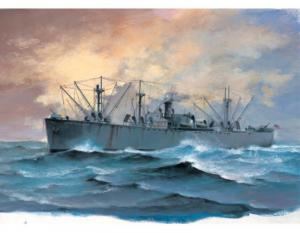 Trumpeter 05755 Statek handlowy SS Jeremiah OBrien model 1-700