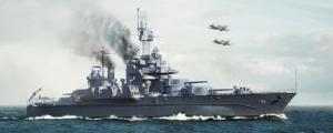 Trumpeter 05770 Pancernik USS Maryland BB-46 1945