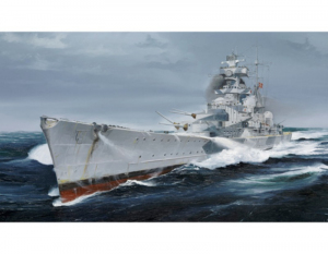 Trumpeter 05775 Krążownik Admiral Hipper 1940 model 1-700