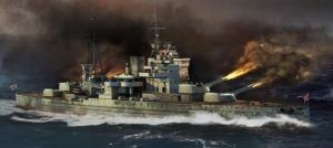 Trumpeter 05794 Pancernik HMS Queen Elizabeth 1941