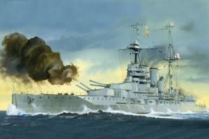 Trumpeter 05797 Pancernik HMS Queen Elizabeth 1918