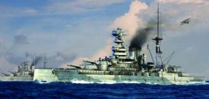Trumpeter 05798 Pancernik HMS Barham 1941