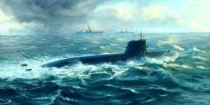Trumpeter 05911 Japanese Soryu Class Attack Submarine