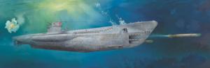 Trumpeter 06801 DKM U-Boat Typ VII C U-552 model 1-48