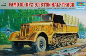 Trumpeter 07203 Transporter Famo Sd.Kfz.9 18 ton