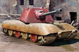 Trumpeter 09543 Ciężki czołg E-100 z wieżyczką Krupp