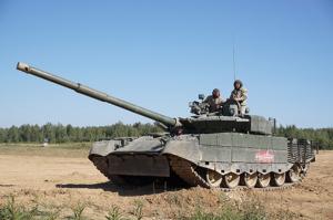 Trumpeter 09587 Czołg T-80BVM MBT model 1-35