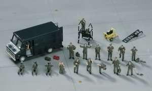 U.S. Pilot - Ground Crew Set - Hasegawa 35007 X72-7