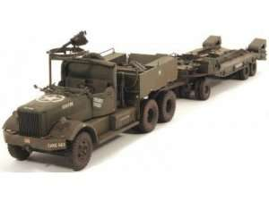 US M19 Tank Transporter with Soft Top Cab - Merit 63502