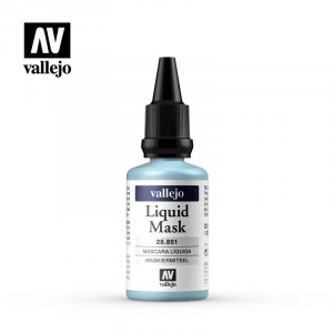 Vallejo 28851 Liquid Mask 32 ml płyn maskujący