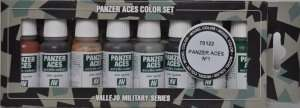Vallejo 70122 Zestaw 8 farb Model Color - Pancer Aces 1