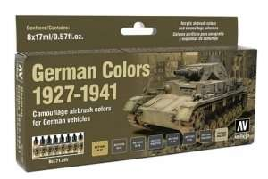 Vallejo 71205 Zestaw 8 farb - German Colors 1927-41
