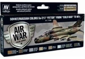 Vallejo 71604 Zestaw farb Soviet/Russian colors Su-7/17 Fitter