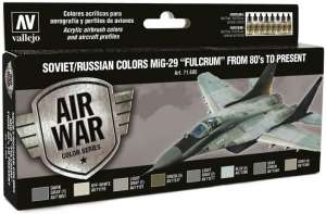 Vallejo 71605 Zestaw farb Soviet/Russian colors MiG-29