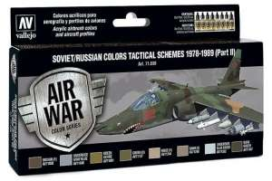 Vallejo 71608 Zestaw Soviet/Russian colors tactical schemes 1978-89 p.II