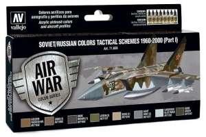 Vallejo 71609 Zestaw Soviet/Russian colors tactical schemes 1960-2000