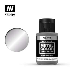 Vallejo 77702 Duraluminium 32ml Acrylic Metal Color