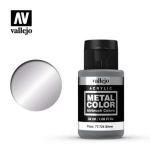 Vallejo 77724 Silver 32ml Acrylic Metal Color
